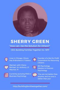 Meet Sherry Green, CEO of Building Families Together NFP. Click to see all our Featured Mompreneurs.