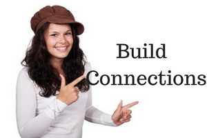Build Connections with others in your niche