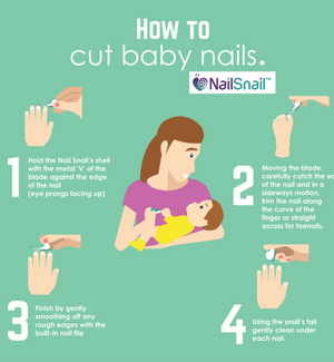 Best Way Trim Baby Nails inspiringmompreneurs