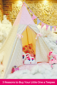 Christmas is fast approaching... here's the perfect gift for your little one's. Guest post by Just for Tiny People | childrententsteepees | reasonstobuyateepee | kidsteepee