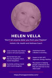 Meet Helen Vella, Holistic Health and Wellness Coach