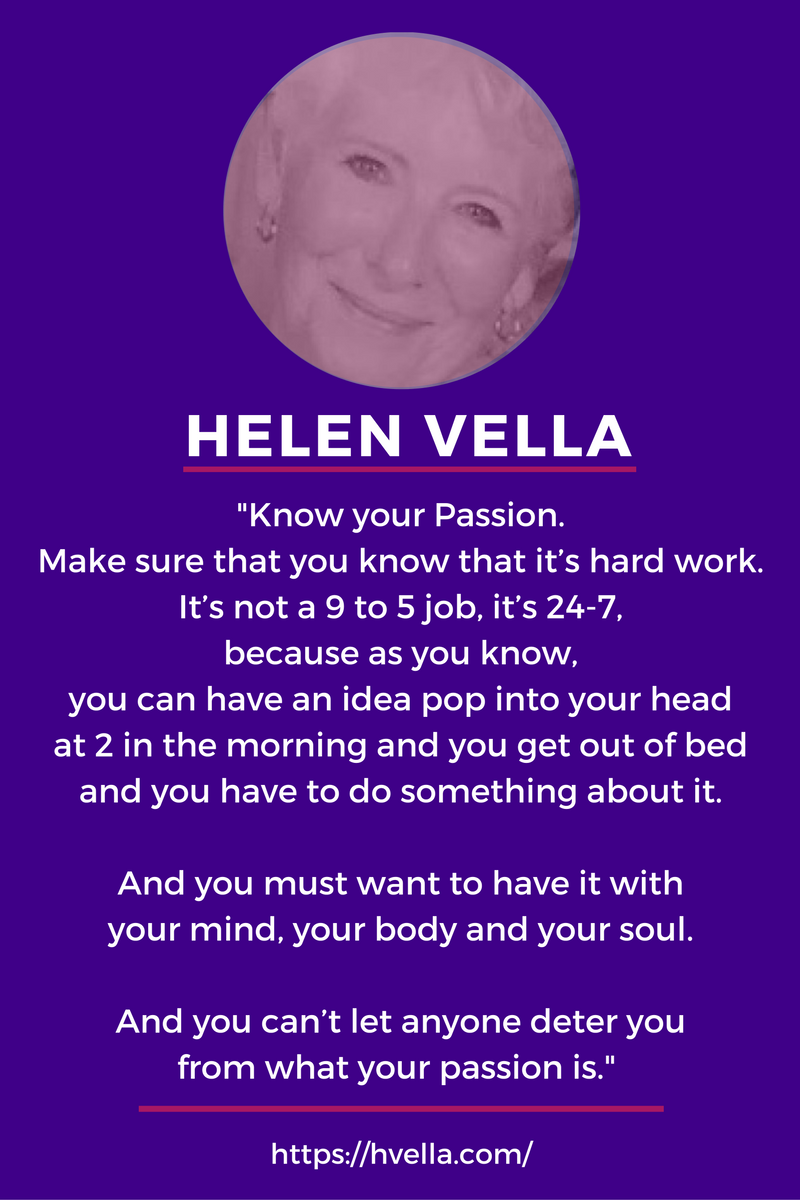 Know Your Passion Helen Vella inspiringmompreneurs
