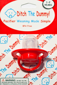 Pacifier for Weaning a Toddler