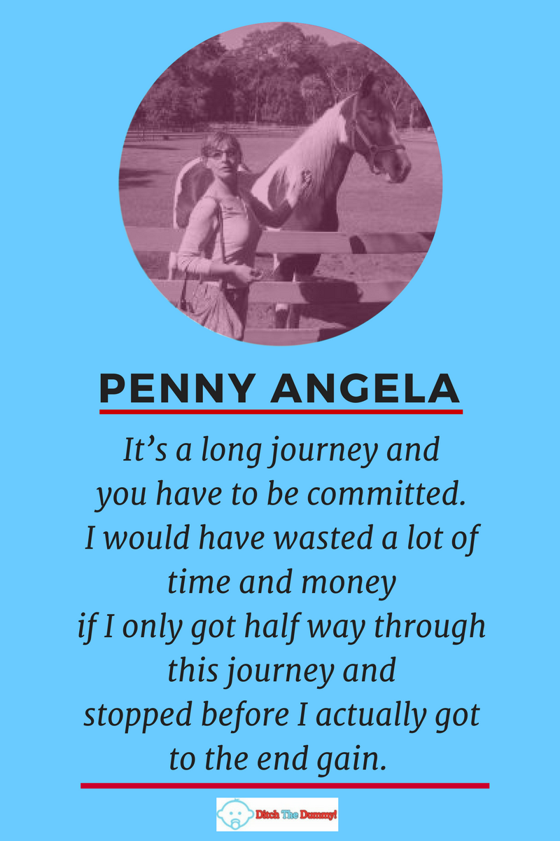 Penny Angela Quote inspiringmompreneurs