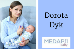 Interview with Dorota Dyk, Mom Inventor of MEDAPTI Baby. Click to see all our Featured Mom Inventors.