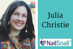 1st Interview with Julia Christie, Mom Inventor of The Nail Snail, Baby Trimmer. Click to see all our Featured Mom Inventors..