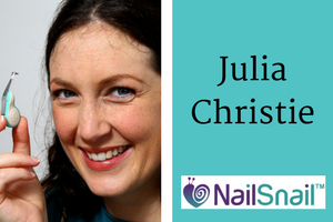 2nd Interview with Julia Christie, Mum Inventor of The Nail Snail, Post-Kickstarter Campaign. Click to see all our Featured Mom Inventors.
