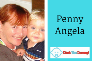 Interview with Penny Angela. Mom Inventor of Ditch the Dummy. Click to see all our Featured Mom Inventors.