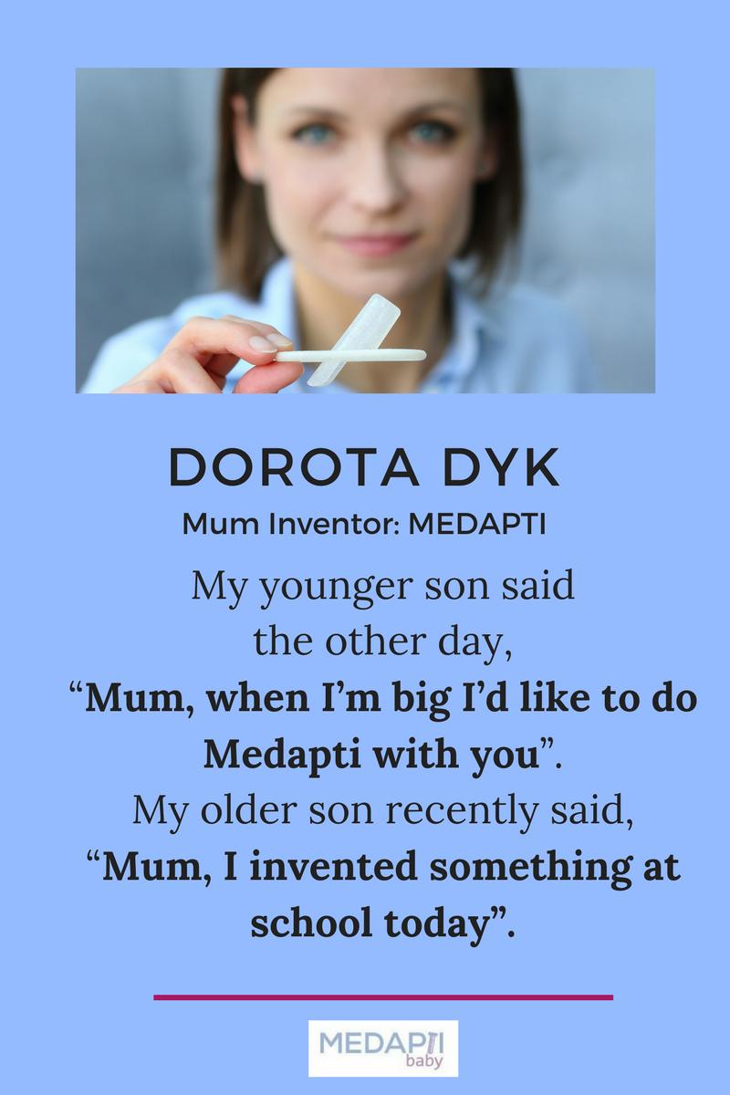 Dorota Dyk Quote