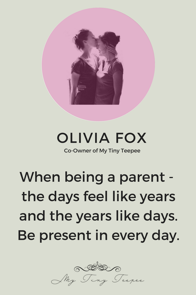 Olivia Fox on Parenting