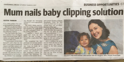 Nail Snail Courier Mail 4 March