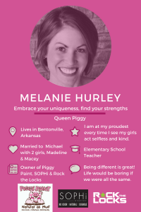 Meet Melanie Hurley, inventor of Piggy Paint Natural Non Toxic Nail Polish. Click to see all our Featured Mompreneurs.