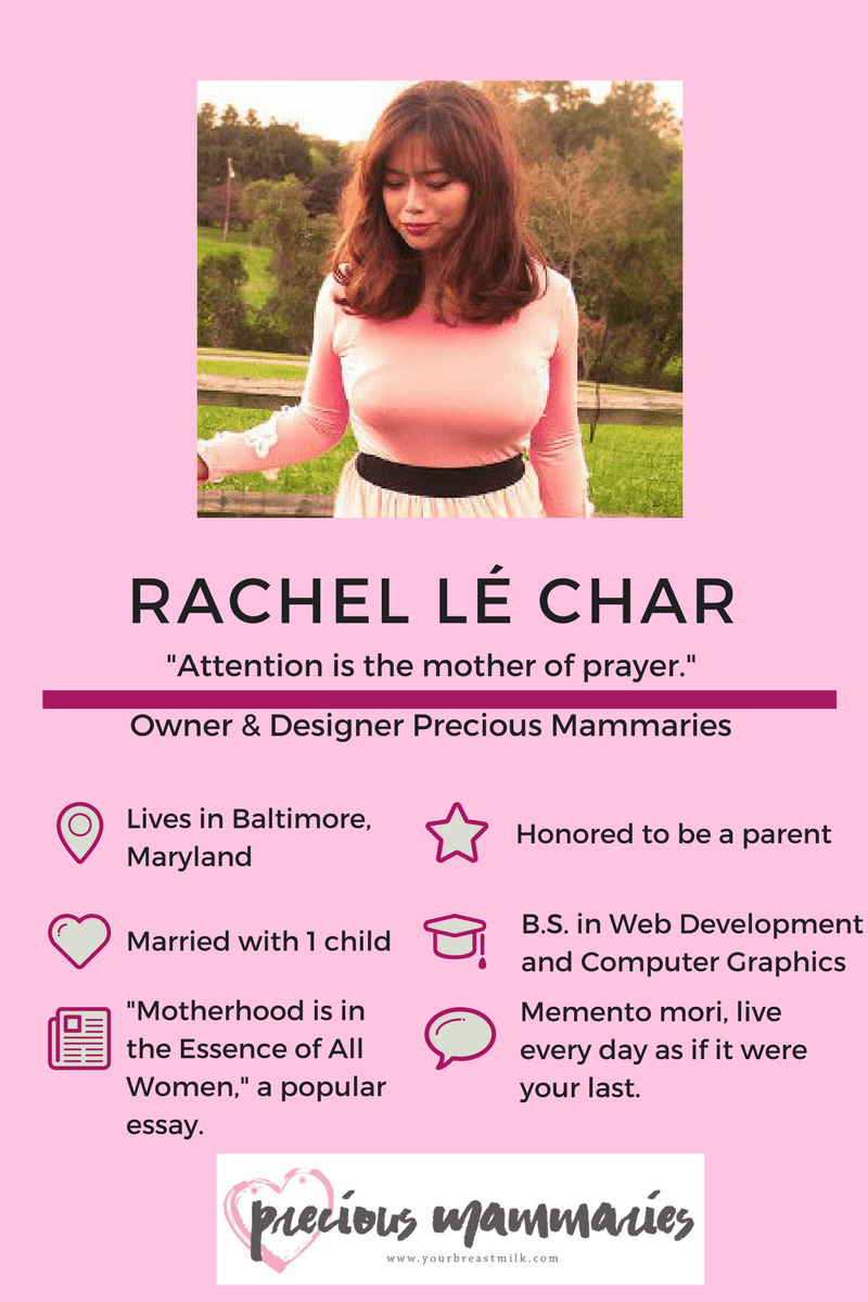 Meet Rachel le Char, Owner and Designer at Precious Mammaries