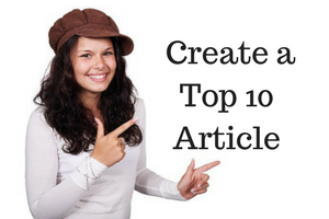 40 Day Challenge Day 22 - Create a Top 10 Article