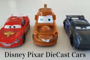 Review Disney Pixar Die Cast Cars
