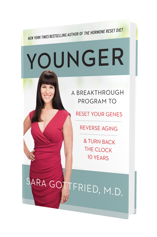 "Get ""Younger"" by Dr. Sara Gottfried on Amazon"