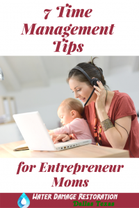 7 Time Management Tips for Busy Entrepreneurs | timemanagementtips | momentrepreneurs | busymompreneurs |
