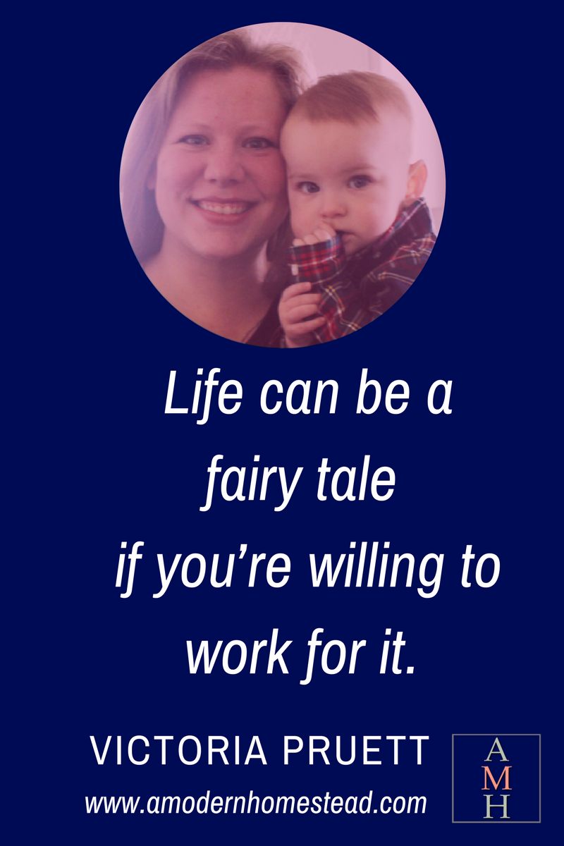 Ready to live your fairy tale life? Meet Victoria Pruett, the Mom Blogger who just retired her husband.
