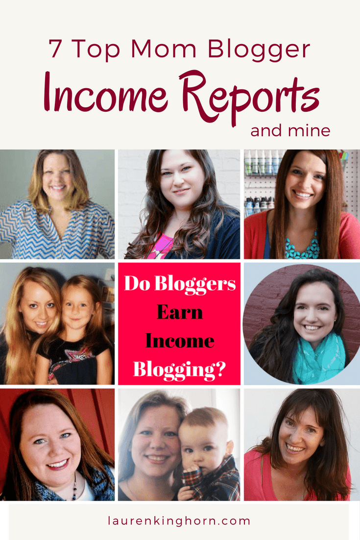 Do Bloggers Earn Income Blogging? Absolutely! It just takes a while... | MomBloggers | MakeMoneyBlogging | BloggerIncome