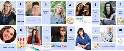 Top 10 Mom Blogs