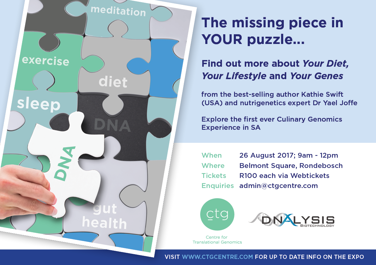 "WIN 2 Tickets to ""The Missing Piece in YOUR Puzzle""Event #MyHealthPuzzle"