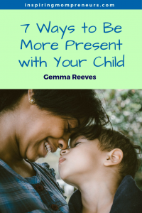 Have you found yourself practicing distracted parenting lately? Here are some excellent ways you can be more present with your children. | beconsciousparent | consciousparenting | handinhandparenting |
