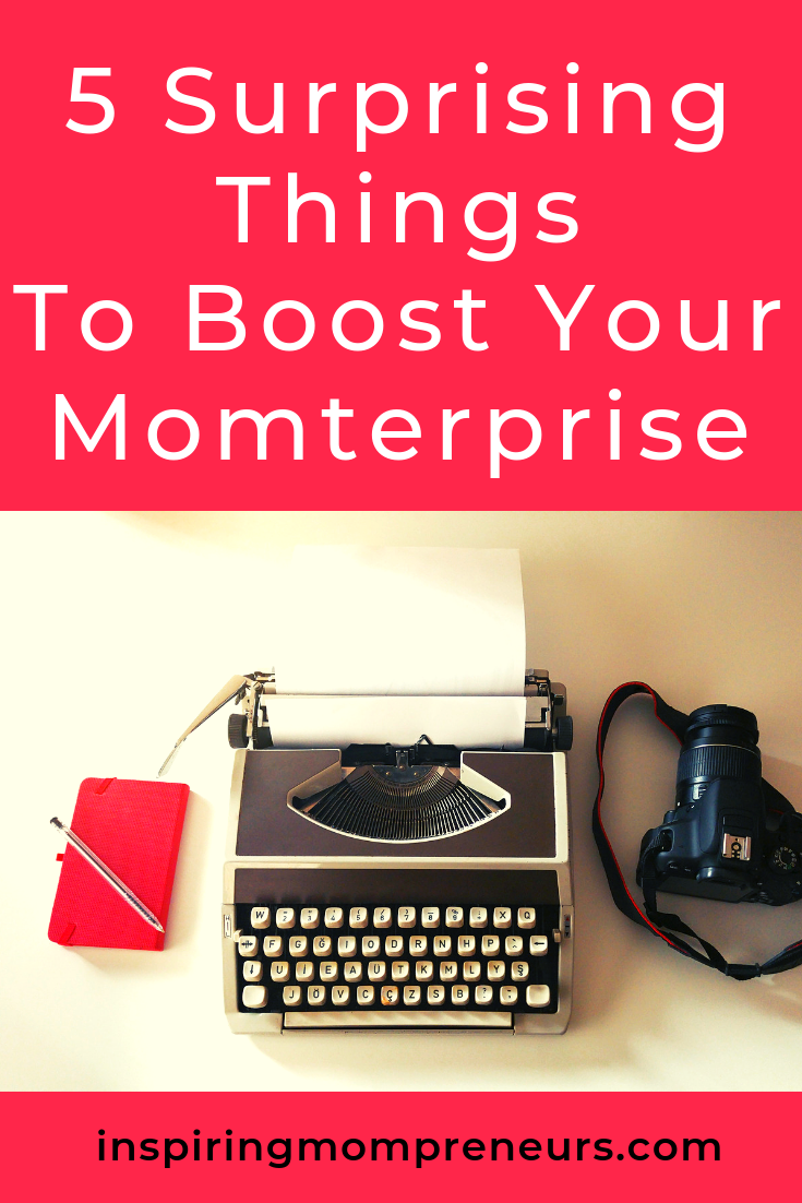 Looking for ideas to boost your small business? Here are some Mompreneur secrets that may surprise you. #BlogEntrepreneurTips #entrepreneurship