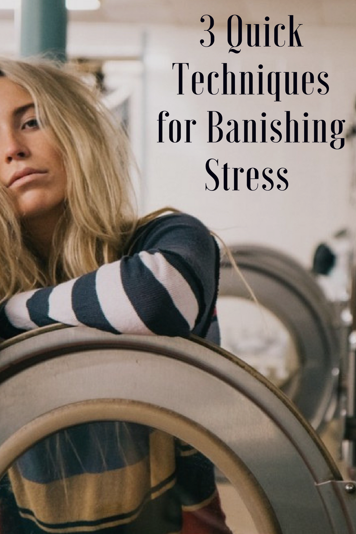 Feeling frazzled? Silly Season stressing you out? Here's how to quick relief. | HowtoRelieveStressFast |
