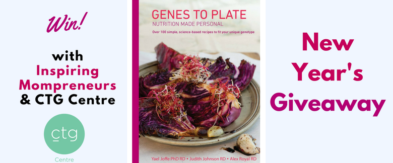 New Years Giveaway Inspiring Mompreneurs - Genes to Plate Recipe Book