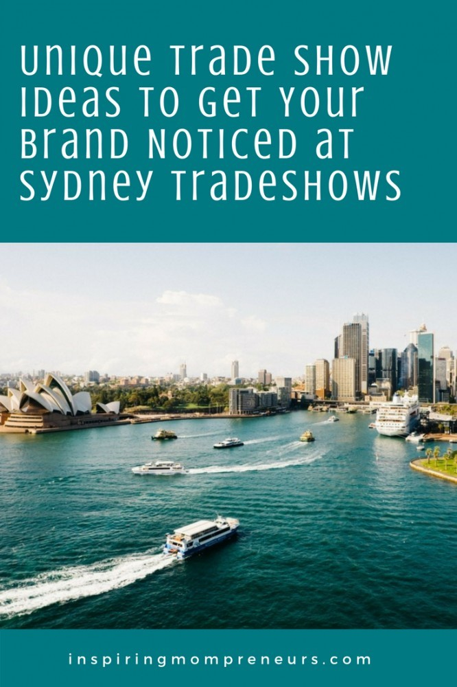 Trade Shows are such a buzz. Here are some unique ideas to make your product the talk of the show. #uniquetradeshowideas