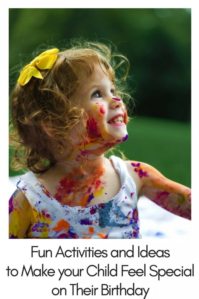 Our children amaze us each and every day. On their Birthday it's our chance to amaze them. Here's how to make your child feel special. Read more at inspiringmompreneurs.com