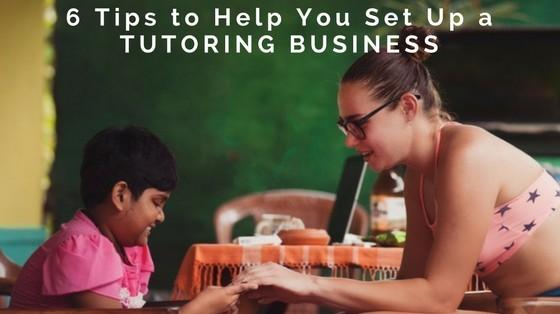How to Set Up a Tutoring Business inspiringmompreneurs.com