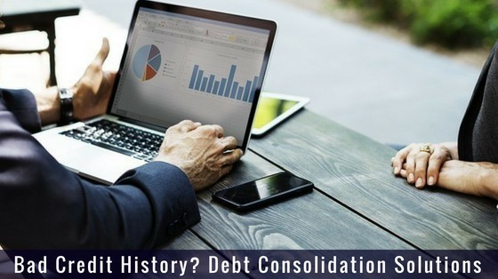 Bad Credit History? Debt Consolidation Solutions inspiringmompreneurs.com