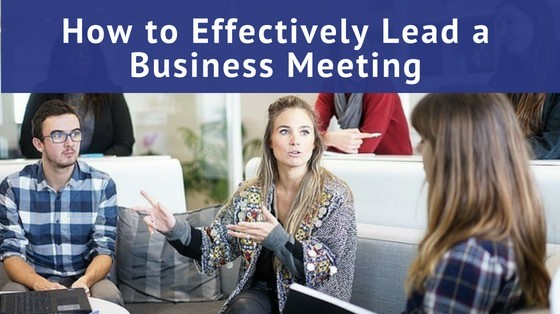 How to Lead a Business Meeting inspiringmompreneurs.com