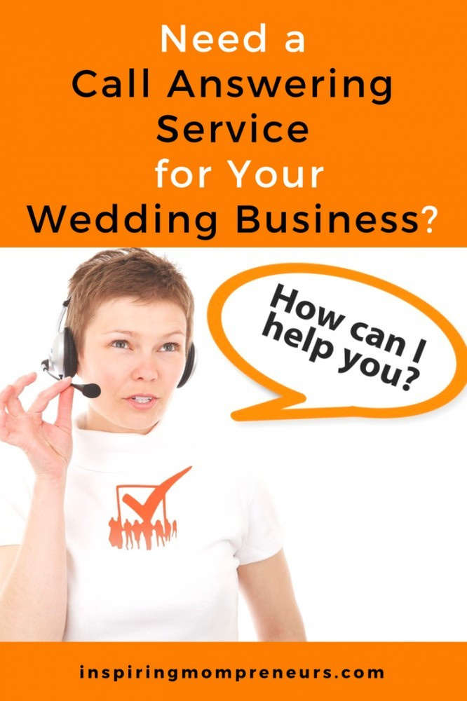 Are you swamped with bookings? Here's How a Call Answering Service Can Aid Wedding Professionals.  #callansweringservice #weddingprofessionals #weddingindustry