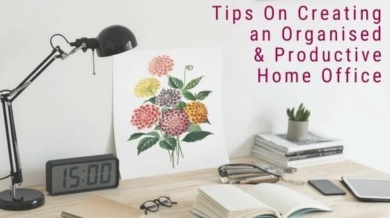 Best Home Office Ideas Helen Martin on inspiringmompreneurs.com