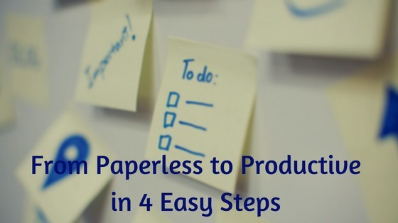 Go Paperless - Office inspiringmompreneurs.com