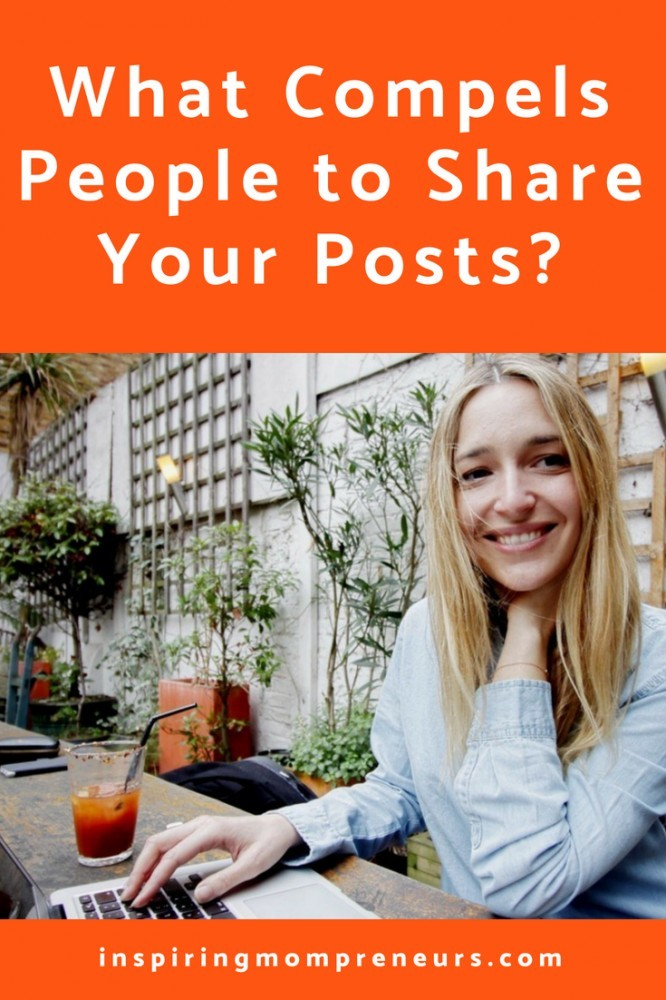 Have you had a post go viral yet? Are people sharing your posts?  Let's get behind the psyche of your readers.  #howtogetpeopletoshareyourcontent