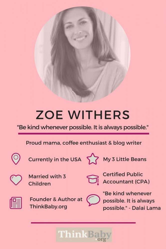 Meet Zoe Withers of ThinkBaby.org.