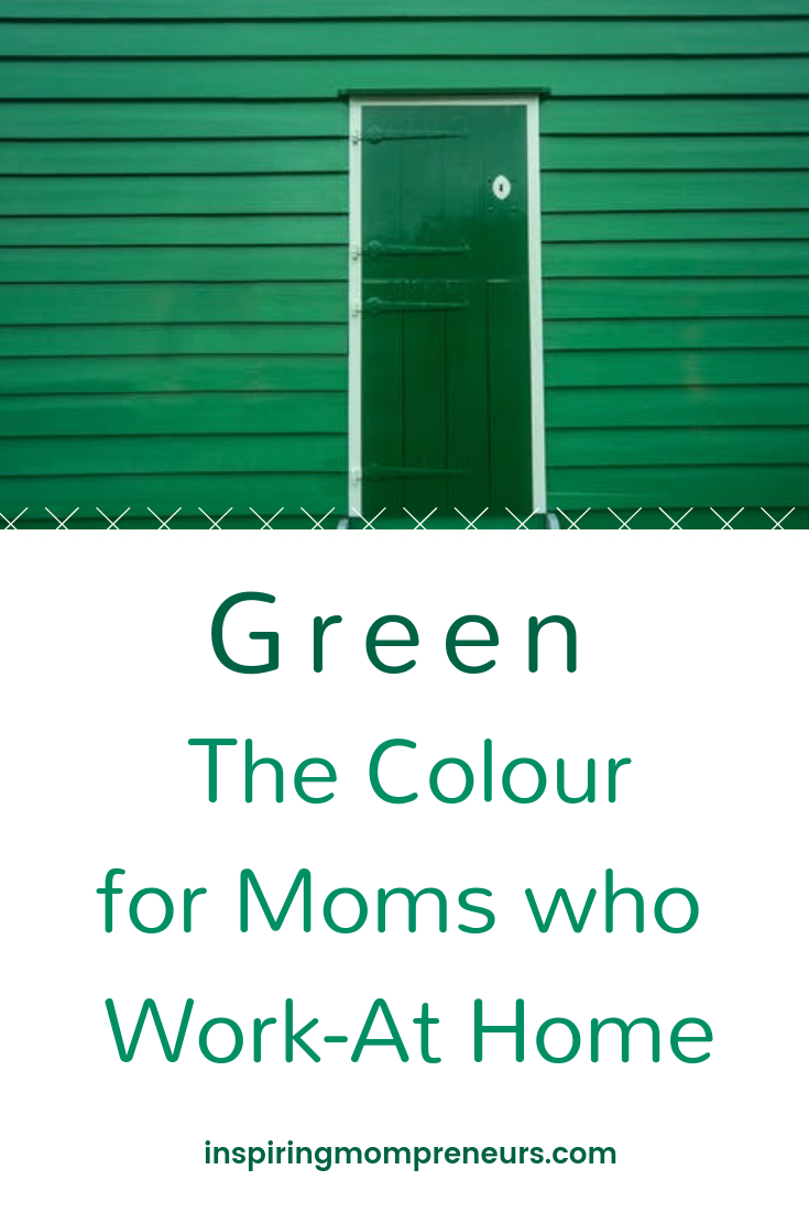 What's your favourite colour Moms? Here's why Green is gorgeous... and good for you. What fun. #ForMomsWhoWorkatHome
