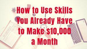 How to Make 10000 Dollars a Month inspiringmompreneurs.com