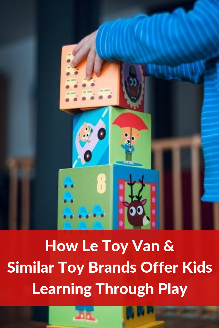 5 ways in which educational toy brands like Le Toy Van prepare children for the real world. #LeToyVan #LearningThroughPlay
