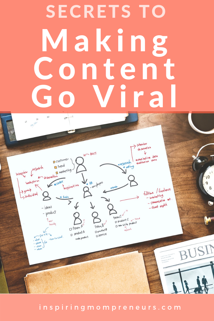Looking to create content that gets shared and reshared by everybody and their Aunty? Here are 3 Secrets to Make Your Content Go Viral. #MakingContentGoViral