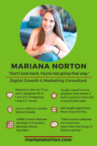 Meet Mariana Norton, Speaker and Digital Marketing Specialist with an amazing solution to help Mompreneurs grow their Star. #MarianaNortonSpeaker