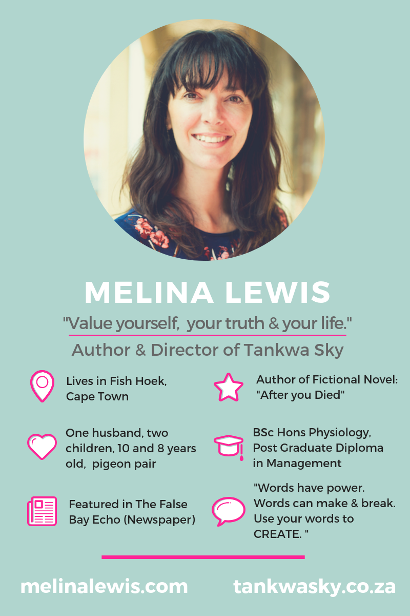 How to Write a Good Novel? Ask Melina Lewis. She just wrote and published a GREAT novel! Go to InspiringMompreneurs.com to read our interview with this South African Indie Author. #HowtoWriteaGoodNovel