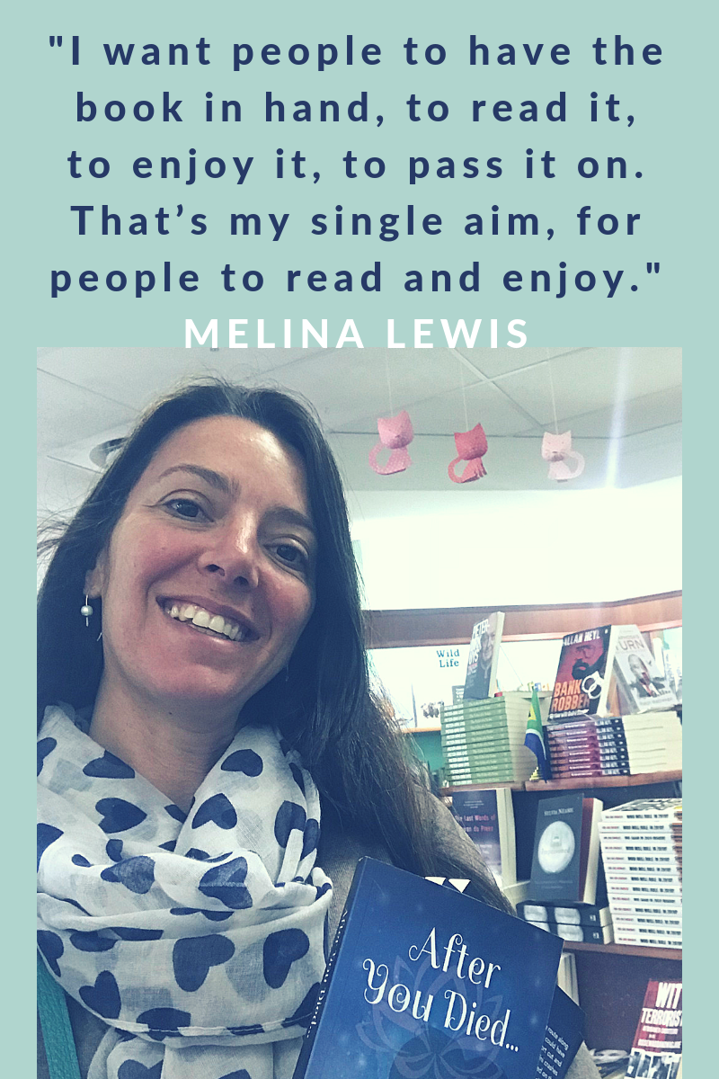 "Meet Melina Lewis, South African Indie Author of the riveting novel ""After You Died"". I could not put this book down. #HowtoWriteaGoodNovel"