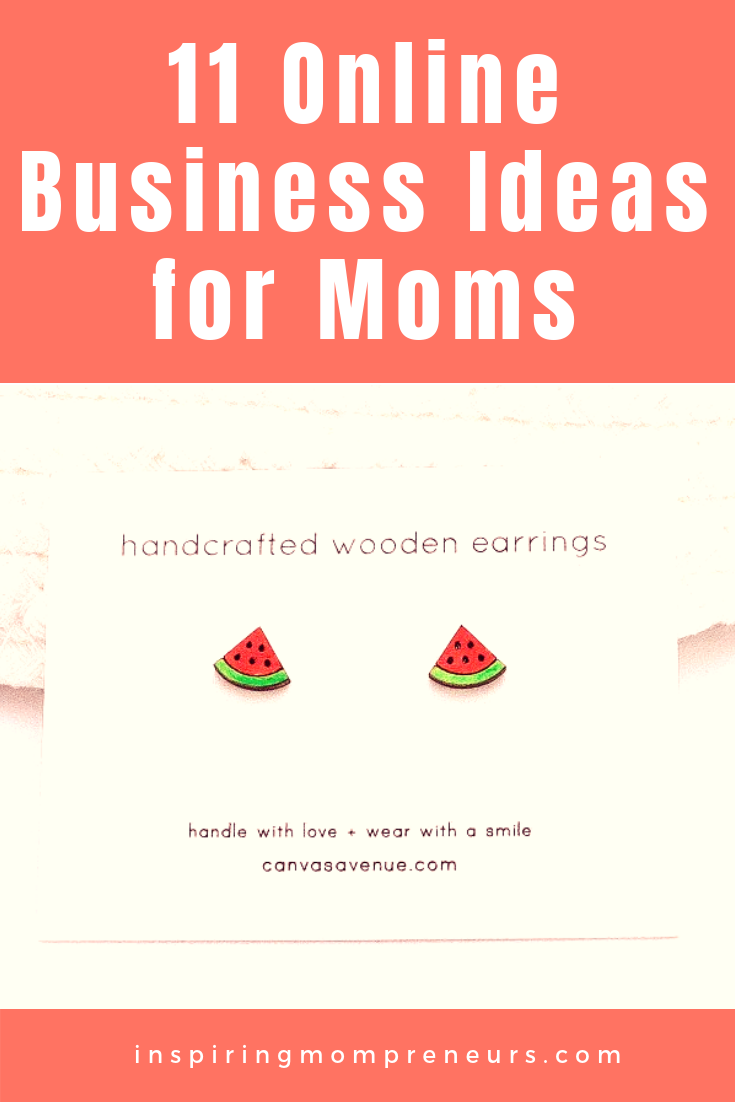 Are you ready to start your own home business? Wendy's Etsy Store has become a full-time business and she has some more fab ideas for you in this guest post.  #OnlineBusinessIdeasforStayHomeMoms
