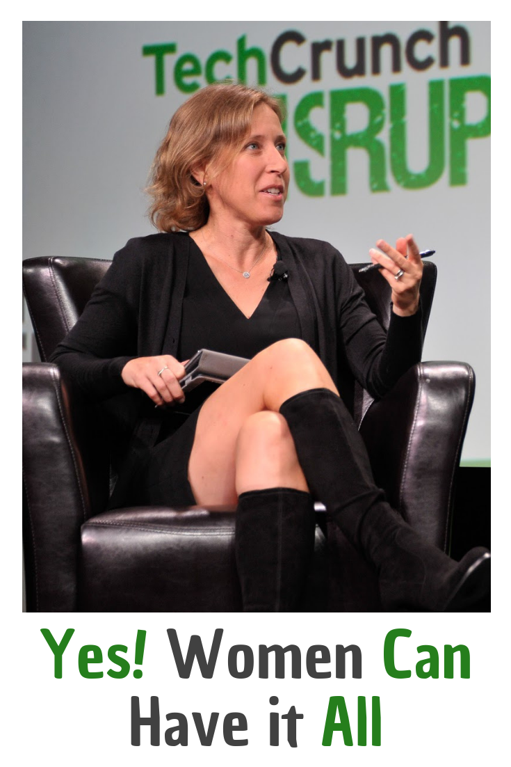 YouTube Star Susan Wojcicki Proves You Can Have Kids And Career Success. Read more at Inspiring Mompreneurs. #YouTubeSusanWojcicki #WomenCanHaveitAll