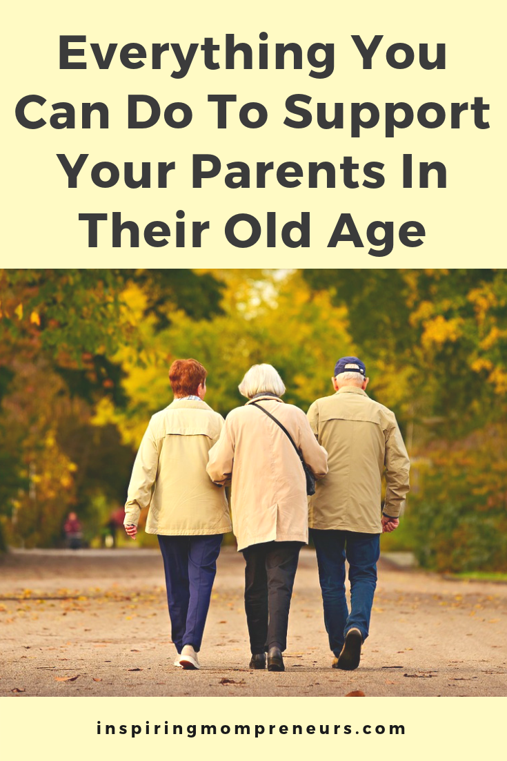 Has the time come to start taking care of your elderly parents? Here are a few tips you may appreciate. #TakingCareElderlyParents