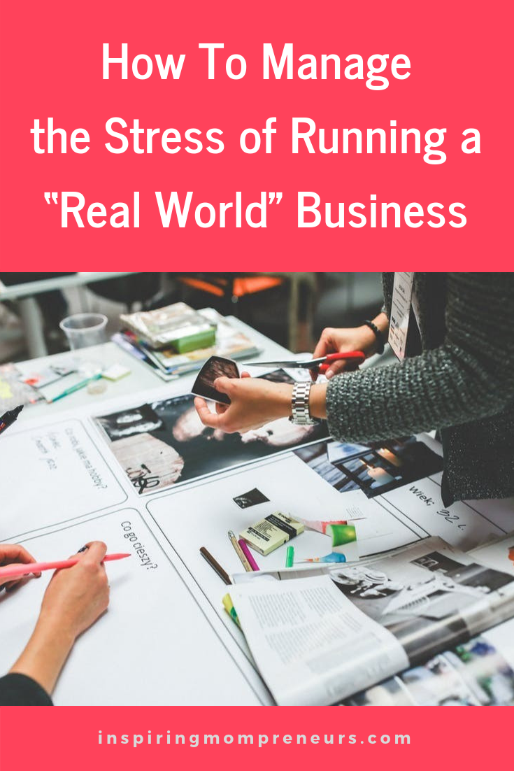 Do you run a brick and mortar business? Stressful, right? Here are some tips to keep your stress levels to a minimum. #HowtoManagetheStress